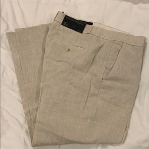 NWT BR cropped Avery pant